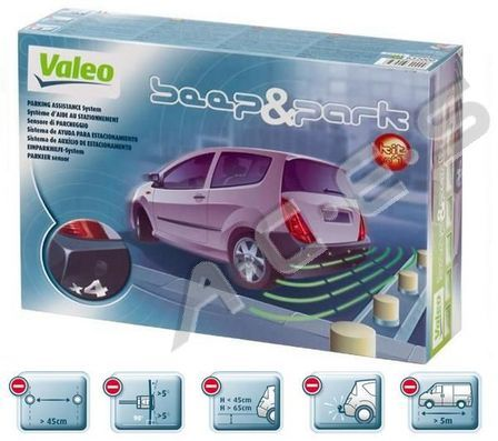 Valeo Beep & Park Parking Assistance System (rear)